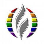 MCC Eternal Flame Logo Chrome Rainbow